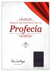 Biblia de estudio de la profecia RVR 1960, Piel Imit. Negra  (The Prophecy Study Bible, Black Imit. Leather)