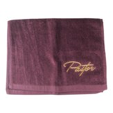 Pastor Towel, Burgundy