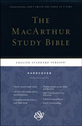 ESV MacArthur Study Bible, Personal Size, Hardcover