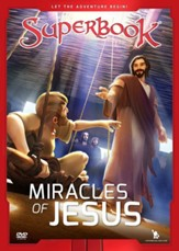 Superbook: Miracles of Jesus, DVD