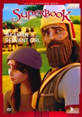 Superbook: Naaman and the Servant Girl, DVD
