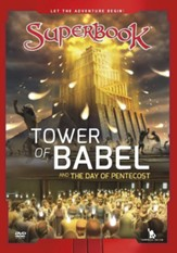 Superbook: Tower of Babel and the Day of Pentecost, DVD