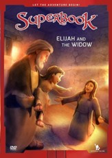 Superbook: Elijah And The Widow DVD
