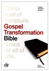 ESV Gospel Transformation Bible, 1st Edition (Trutone,  Mahogany with Ornament Design)