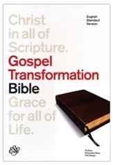 ESV Gospel Transformation Bible (TruTone, Chocolate/Plum, Trail Design) - Slightly Imperfect