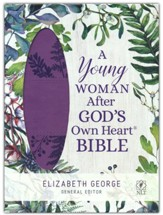 A Young Woman After God's Own Heart Bible, Imitation Leather