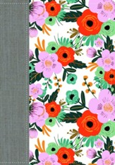 Woman After God's Own Heart Bible, Floral Imitation Leather