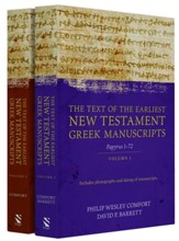 The Text of the Earliest New Testament Greek Manuscripts, 2-Volume Set
