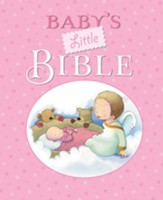 Baby's Little Bible, Hardcover, Pink