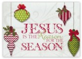 Jesus is the Reason for the Season, Box of 12 Christmas Cards