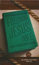 ESV Following Jesus Bible, Trutone, Teal