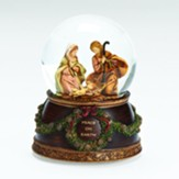 Peace On Earth, Musical, Dome, With Holy Family