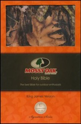 KJV Ultraslim Bible, Mossy Oak Edition, Leathersoft Camo