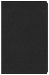 ESV Vest Pocket New Testament with Psalms and Proverbs--soft leather-look, black