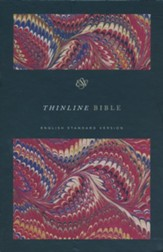 ESV Thinline Bible, Classic Marbled Hardcover