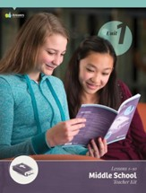 Answers Bible Curriculum Middle School Unit 1 Teacher Kit (2nd Edition)