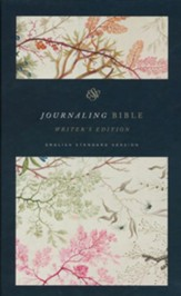 ESV Journaling Bible, Writer's Edition (Elegant Grace Design) - Slightly Imperfect