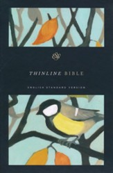 ESV Thinline Bible (Autumn Song)