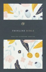 ESV Thinline Bible (Spring Bloom) - Slightly Imperfect