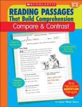 Reading Passages That Build Comprehension: Compare & Contrast