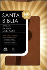 Biblia de Regalo NBD, Piel Italiana Beige  (NBD Gift Bible, Imitation Leather, Beige)