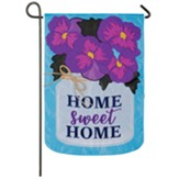 Home Sweet Home, Garden Flag, Small