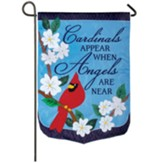 Cardinals Appear When Angels Are Near, Garden Flag, Small