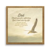 Dad Thank You For Reflecting God's Love Magnet