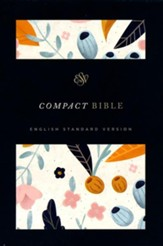 ESV Compact Bible (Spring Bloom) Hardcover