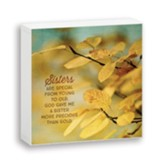 Sisters are Special, Box Plaque