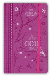 2019 A Little God Time - 12-Month Weekly Planner