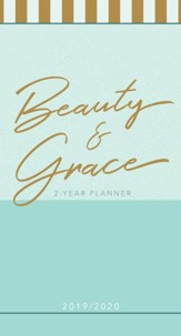 2019/2020 Beauty & Grace - 2-Year Pocket Planner