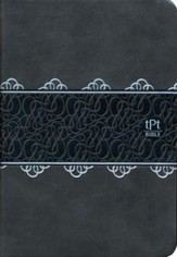 The Passion Translation (TPT): New Testament with Psalms, Proverbs, and Song of Songs, compact, imitation leather, gray