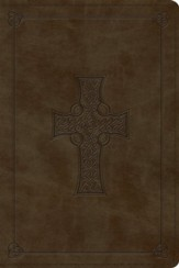 ESV Personal Reference Bible, TruTone, Olive, Celtic Cross Design