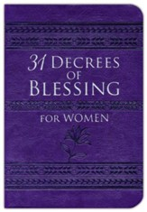 31 Decrees of Blessing for Women, imitation leather