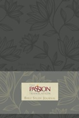 The Passion Translation (TPT): Bible Study Journal - faux floral