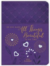 2020 All Things Beautiful Planner with Zipper - 16-month  Weekly Planner