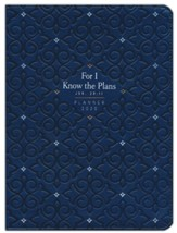 2020 For I Know the Plans Planner with Zipper - 16-month Weekly Planner