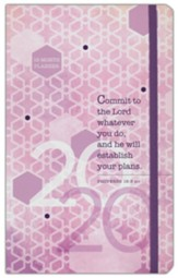 2020 Commit to the Lord Planner - 16-month  Weekly Planner