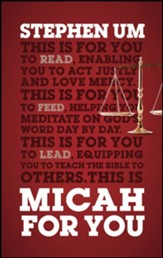 Micah for You, Softcover