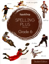 Spelling Plus Grade 6 Student Edition  - Slightly Imperfect