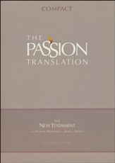 TPT Compact New Testament with  Psalms, Proverbs and Song of Songs--imitation leather, brown