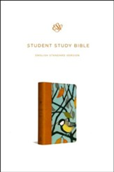 ESV Student Study Bible (Printed TruTone Imitation Leather with Autumn Song) - Slightly Imperfect