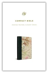 ESV Compact Bible (Printed TruTone  Imitation Leather with Elegant Grace)