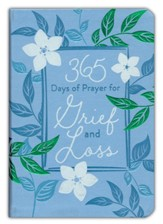 365 Days of Prayer for Grief & Loss - Bonded Leather