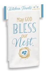 May God Bless Our Nest Kitchen Towel