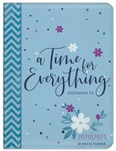 2021 A Time for Everything 18-Month Planner with Zipper