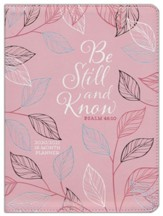 2021 Be Still and Know 18-Month Planner with Zipper