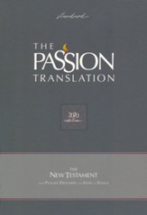 TPT New Testament with Psalms,  Proverbs and Song of Songs, 2020 Edition--imitation leather, gray