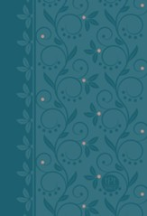 TPT Compact New Testament with  Psalms, Proverbs and Song of Songs, 2020 Edition--imitation leather, teal